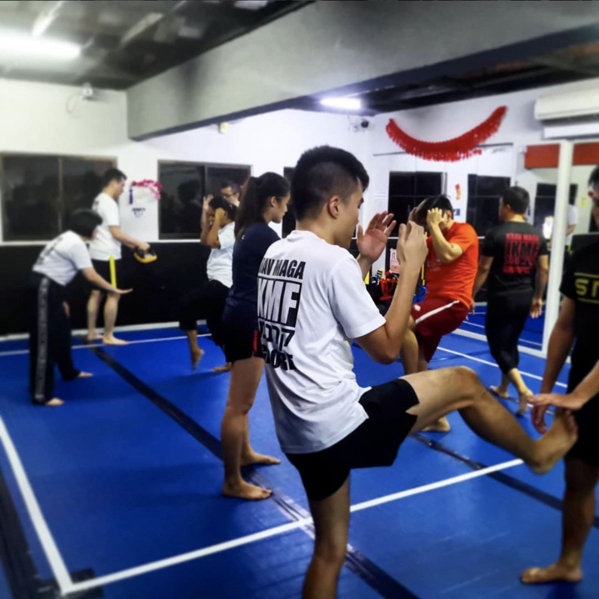 International Krav Maga Federation Singapore Jurong East Interior